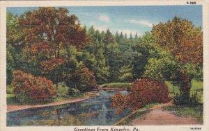 Pennsylvania Kingsley Greetings From Kingsley