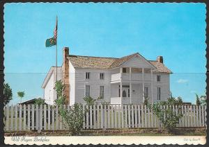 Oklahoma, Claremore, Will Rogers Birthplace, unused
