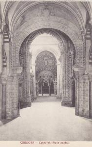 Catedral, Nave Central, Cordoba (Andalucia), Spain, 1900-1910s