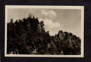 Hrad Frydstejn Czechoslovakia Postcard Real Photo RPPC Ceskoslovensko
