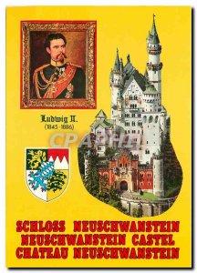 Modern Postcard Schloss Neuschwanstein Ludwig II