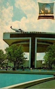 New York World's Fair 1964-1965 Port Of New York Authority Heliport and ...
