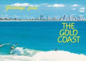 Surfing,  The Cold Coast,  Queensland,  Australia,  50-70s