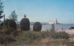 View From Harbour and Blue Mountains from Sunset Point, Collingwood, Ontario,...