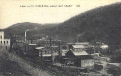 Hydro Electric Power System Bellows Falls VT 1946