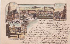 Gruss aus Gaildorf , district of Schwäbisch Hall, Baden-Württemberg, German...
