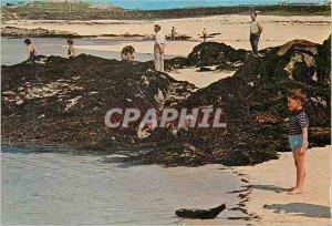 Postcard Modern Coral Strand Mannin Bay Ballyconneely