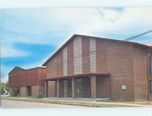 Unused Pre-1980 CHURCH SCENE Sallisaw - Near Muskogee Oklahoma OK G3315