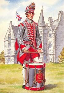 Military Art Postcard Drummer, the 70th Regiment of Foot, 1758 #32-2