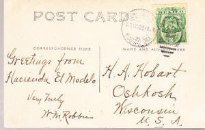 Mexico  Hacienda El Modelo 1908 RP