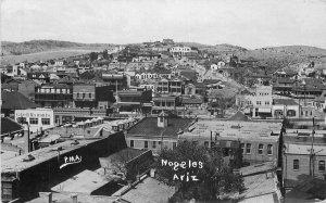 Birdseye Panoramic 1921 RPPC Photo Postcard Nogales Arizona PMA 7895