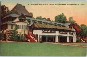 The Park Restaurant, Queen Victoria Park, Niagara Falls Ontario, Canada c11