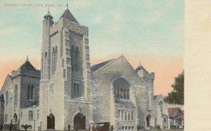 LONG BEACH, California, 1900-10s; Methodist Church
