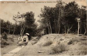 CPA Environs de ROYAN - Tramway Forestier de la Grande-Cote (242226)