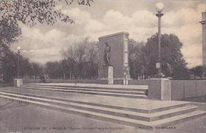 Nebraska Lincoln Statue Of Lincoln