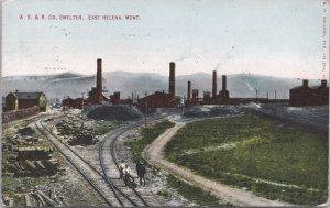 East Helena, Montana-A. S. & R. Smelter - 1915