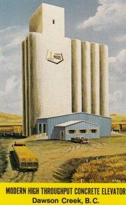 DAWSON CREEK , B.C., Canada, 50-60s , Concrete Elevator