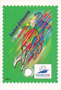 France Coupe du Monde de Football 1998 Saint-Etienne