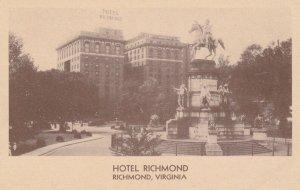 RICHMOND , Virginia , 1910s ; Hotel Richmond