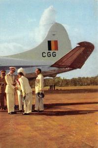 Voyage du Roi au Congo L'Avion Prive du Gouverneur General de la Colonie