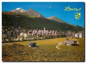 Postcard Modern Switzerland Davos Graubunden
