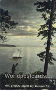 British Columbia, Canada English Bay Vancouver  English Bay