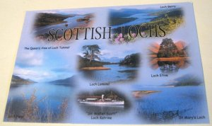 Scotland Scottish Lochs S-57-H Exclusive Cards - posted 1997