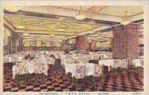 Illinois Chicago The Cafeteria Interior YMCA Hotel Curteich