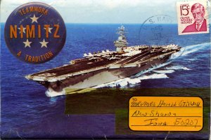 Folder - USS Nimitz (CVN-68)          12 views + narrative