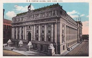 U. S. Custom House NYC, New York City - pm 1929 - WB