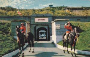 Canada Entrance To Halifax Citadel Nova Scotia