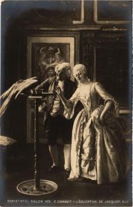 CPA Salon 1901 G. CHANET L'Edcation de Jacquot (702931)