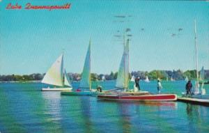 Sailing On Lake Quannapowitt Wakefield Massachusetts 1968