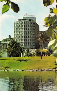 San Juan Puerto Rico~El Miramar Charterhouse Hotel~1950s Postcard