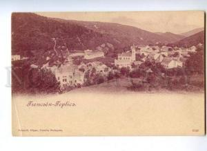 173432 CZECH Teplice Frencoen Teplicz Vintage postcard