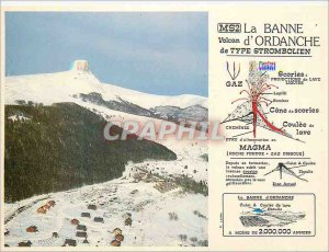 Modern Postcard The Banne Ordanche Auvergne Image Volcant type Strombolian vo...
