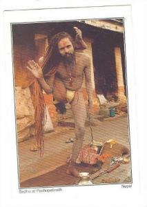 Sadhu at  Pashupatinath , NEPAL , PU-1994
