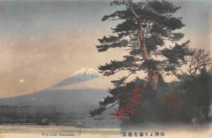 Japan Fuji from Numadzu Mountain Panorama