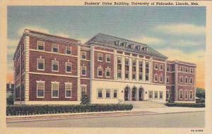 Student´s Union Building, University of Nebraska, Lincoln, Nebraska, 30-40s