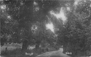 C-1910 Sidcup London UK RPPC Photo Postcard Perry Street 1363