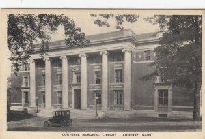 AMHERST , Massachusetts, 1910s ; Converse Memorial Library