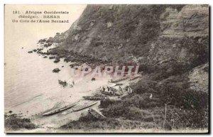 Old Postcard West Africa Dakar A Corner of Bernard & # 39Anse Senegam
