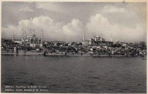 ISTANBUL , Turkey , 1910-30s ; Sultan Ahmed et St Sophie