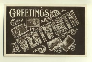 su957 - Greetings from Wentworth , New South Wales , Australia - postcard