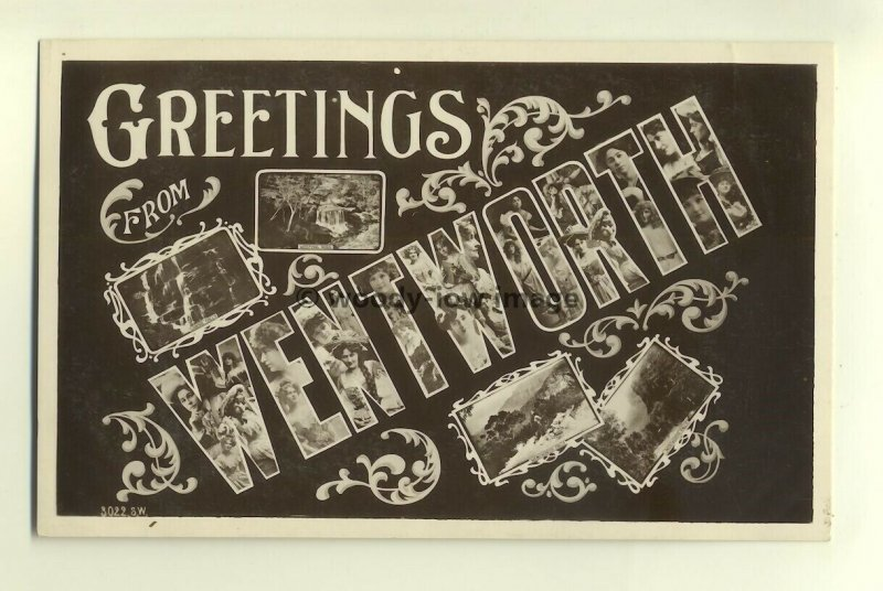su0957 - Greetings from Wentworth , New South Wales , Australia - postcard