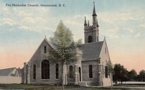 GREENWOOD , South Carolina , 1918 ; The Methodist Church