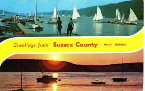 PC5925  GREETINGS FROM SUSSEX COUNTY,  NEW JERSEY