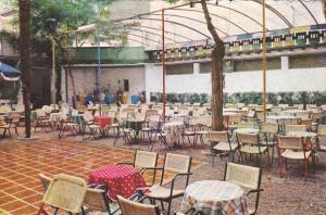 Spain Salamanca Restaurant El Zaguan Terraza Baile