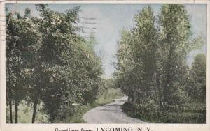 New York Greetings From Lycoming 1924