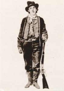 Billy the Kid 1859-1881 - Outlaw in Western USA - Recent Print